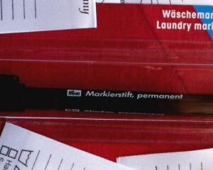 Wäschemarkierstift permanent