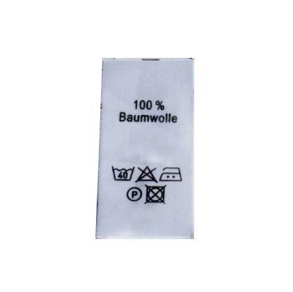 100%Baumwolle als Hochformat
