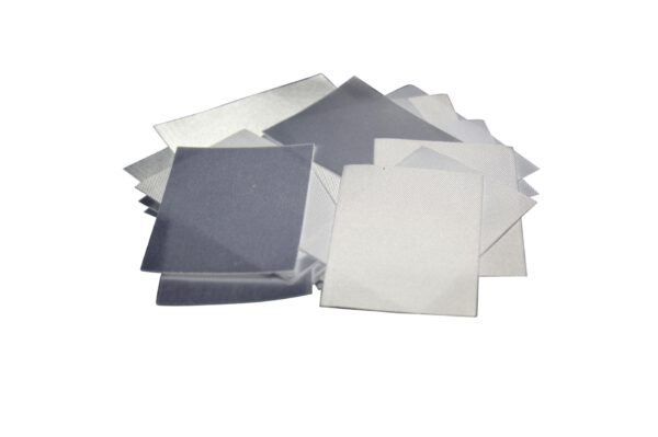 25 Textiletiketten ohne Aufdruck (Blanko)