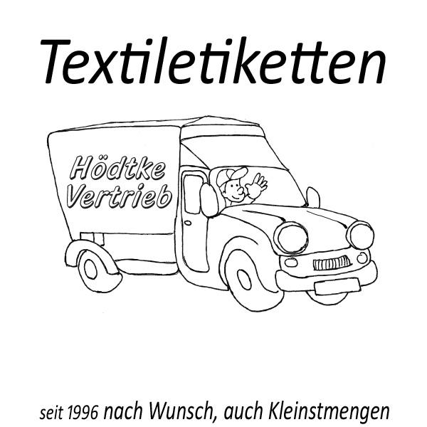 Textiletiketten Hödtke-Vertrieb